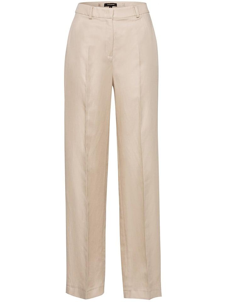 More & More Spodnie w kolorze beżowym