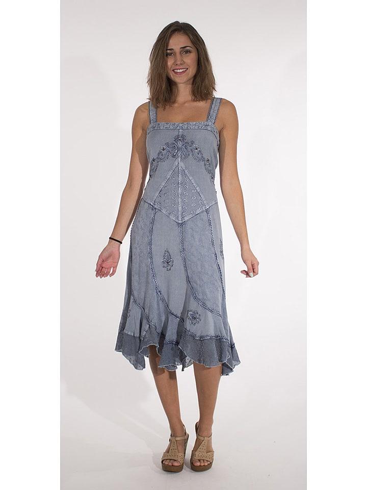 Coline Sukienka w kolorze niebieskim
