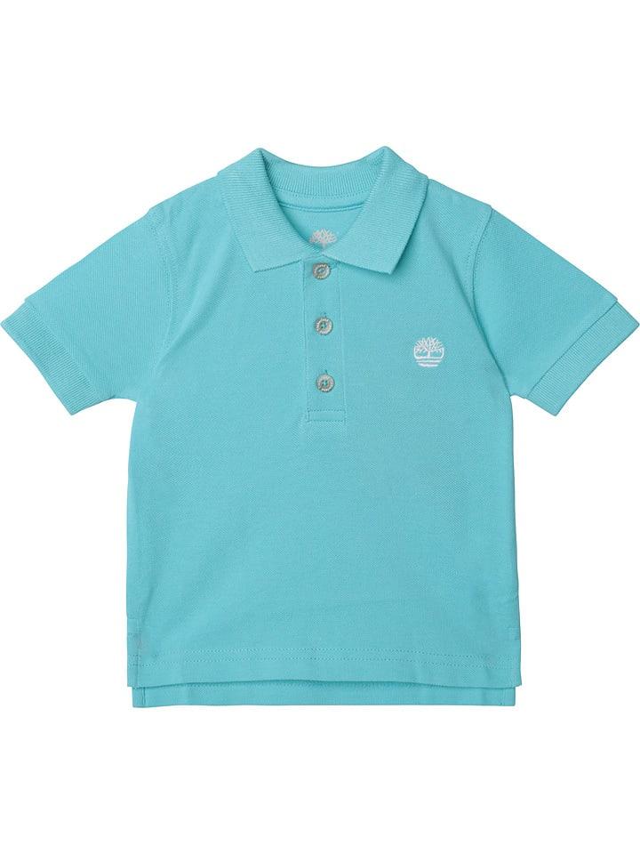 Timberland Koszulka polo w kolorze turkusowym
