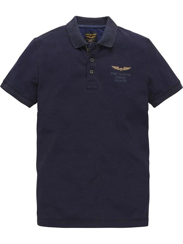PME Legend Poloshirt donkerblauw