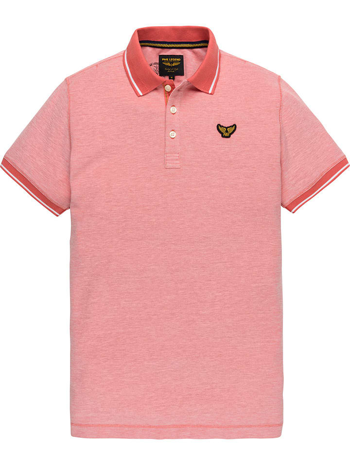 PME Legend Poloshirt rood