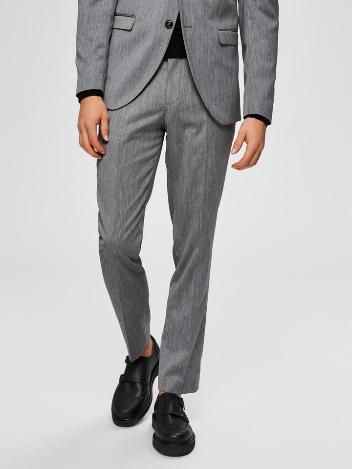 """SELECTED HOMME Chino """"Mylobill"""" in Grau"""