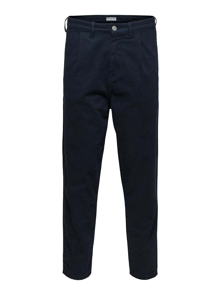 """SELECTED HOMME Chino """"Ian"""" in Dunkelblau"""
