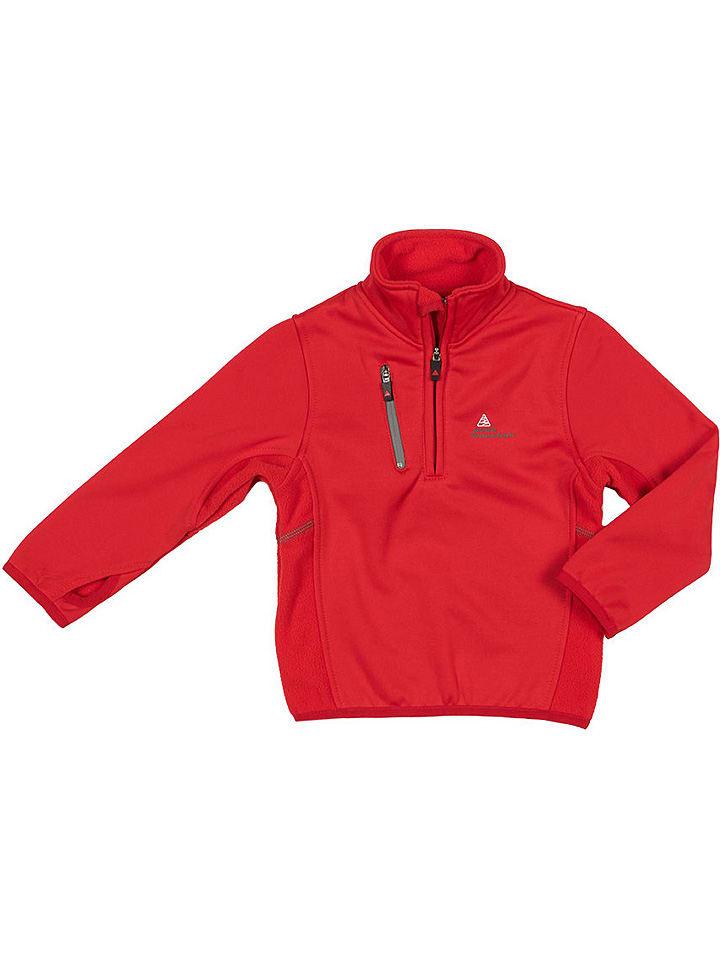 Peak Mountain Functioneel shirt rood