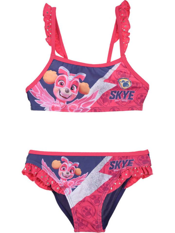 """Paw Patrol Bikini """"Paw Patrol"""" w kolorze granatowo-różowym"""