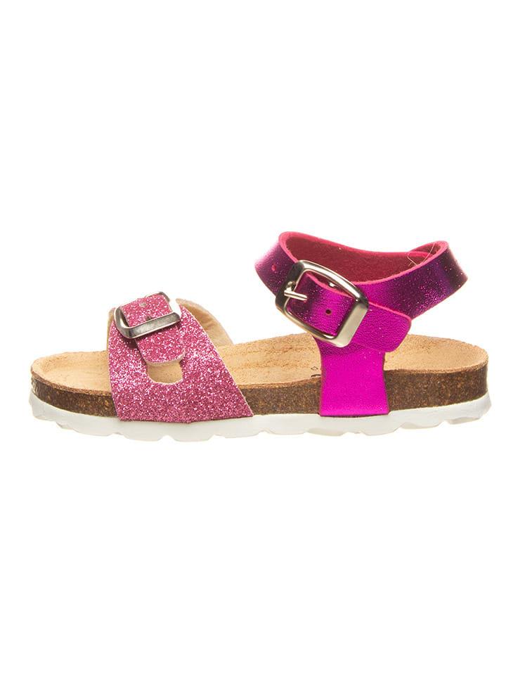 Billowy Sandały w kolorze różowym