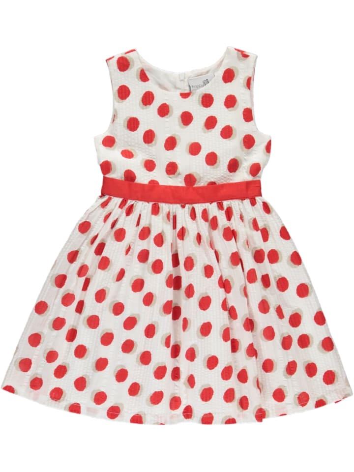Happy girls by Eisend Sukienka w kolorze czerwono-białym