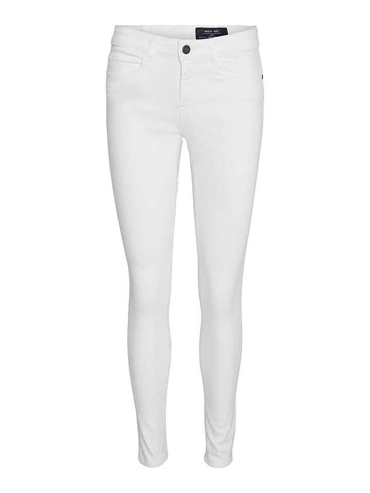 """Noisy may Jeans """"Nmlucy"""" - Skinny fit - in Weiß"""