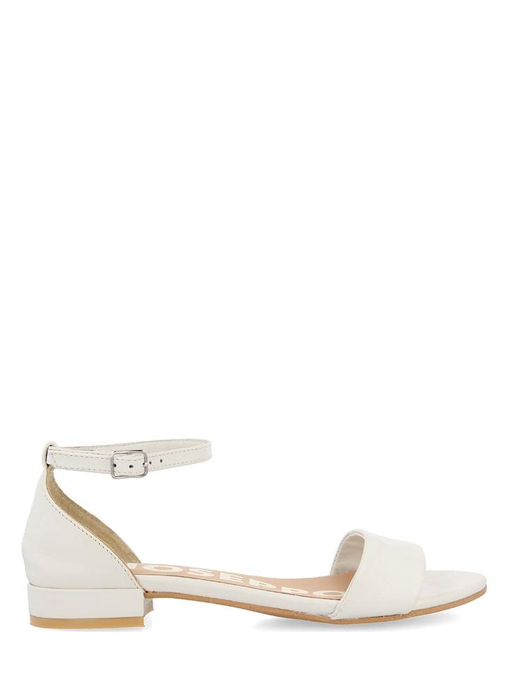 Gioseppo Leren sandalen wit