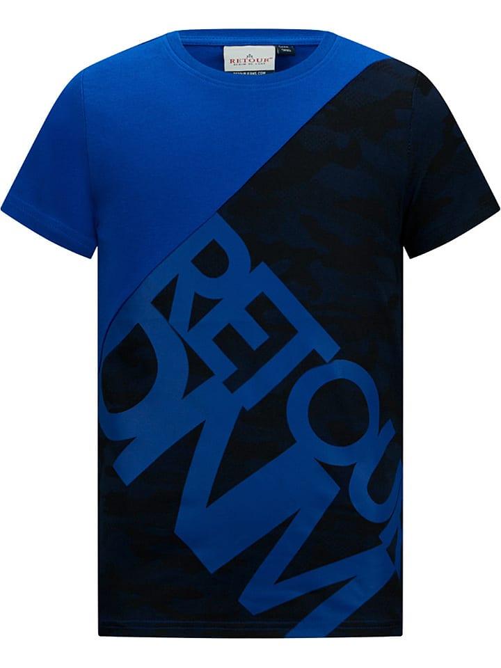 "Retour Shirt ""Epke"" in Blau"