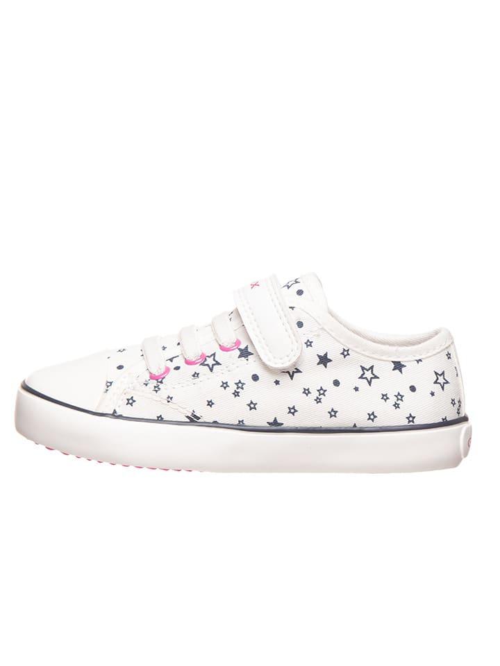 Geox Sneakersy w kolorze białym