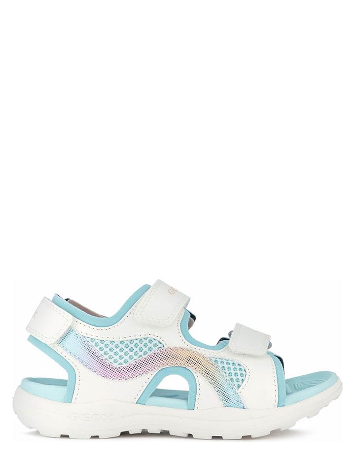"""Geox Sandały """"Vaniett"""" w kolorze białym"""