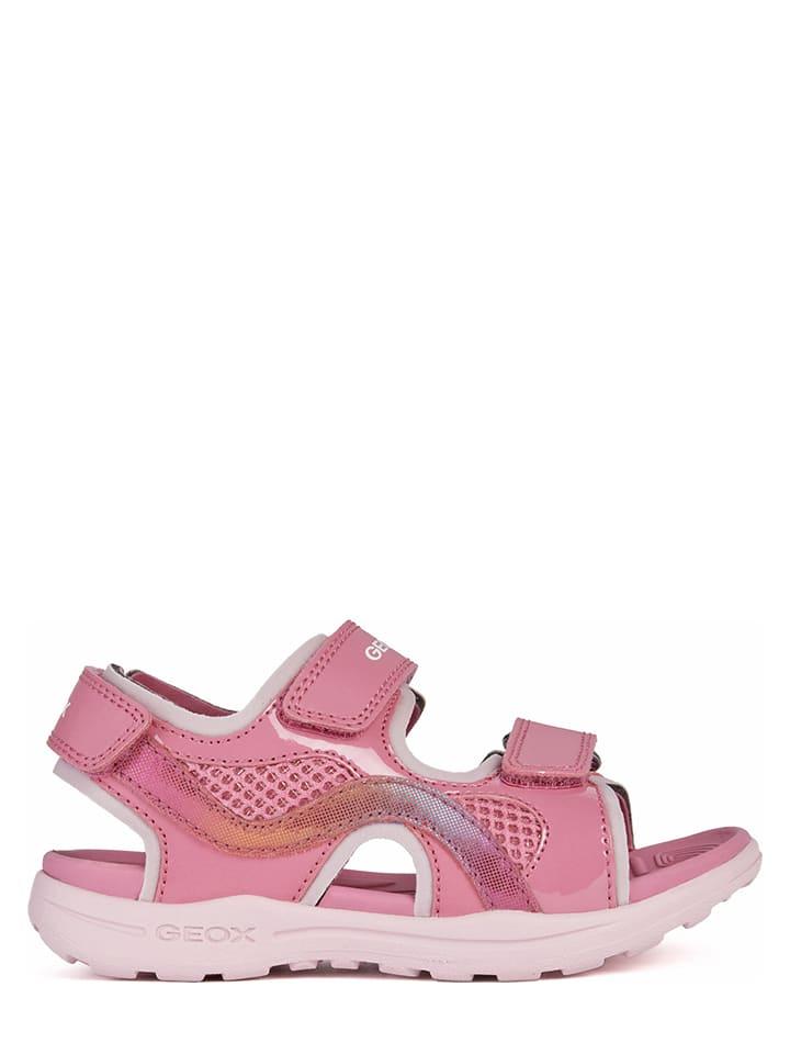 """Geox Sandały """"Vaniett"""" w kolorze jasnoróżowym"""