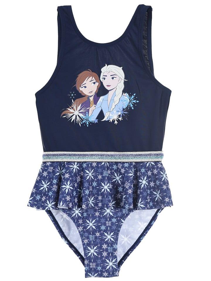 """Disney Frozen Strój kąpielowy """"Frozen"""" w kolorze granatowym"""