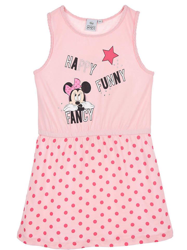 """Disney Minnie Mouse Sukienka """"Minnie"""" w kolorze jasnoróżowym"""
