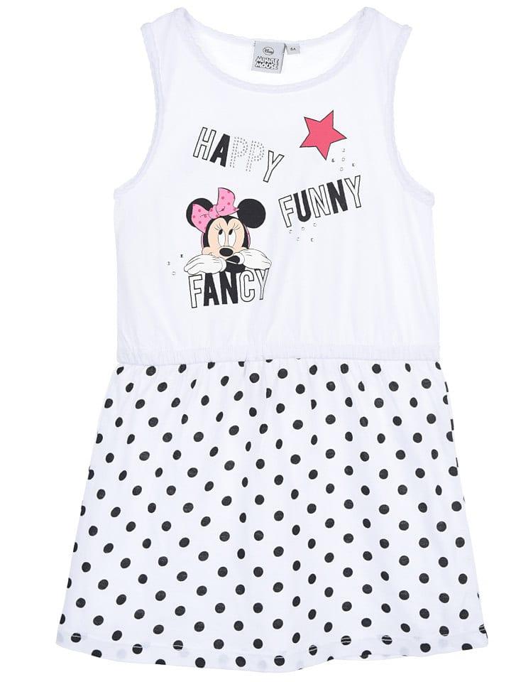 """Disney Minnie Mouse Sukienka """"Minnie"""" w kolorze białym"""