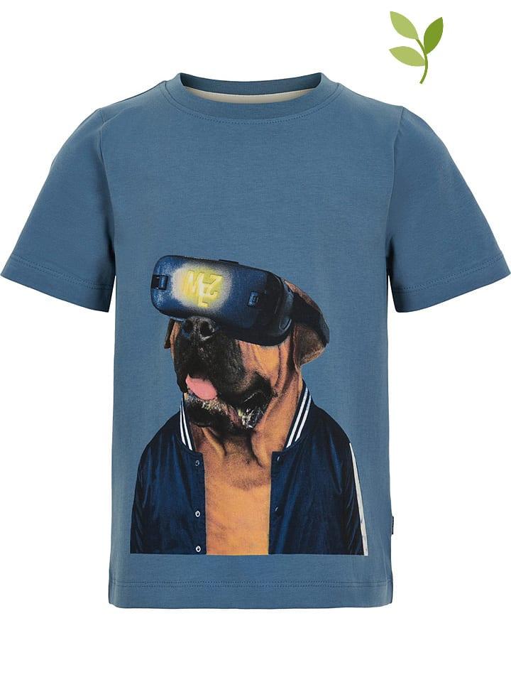 Minymo Koszulka w kolorze niebieskim