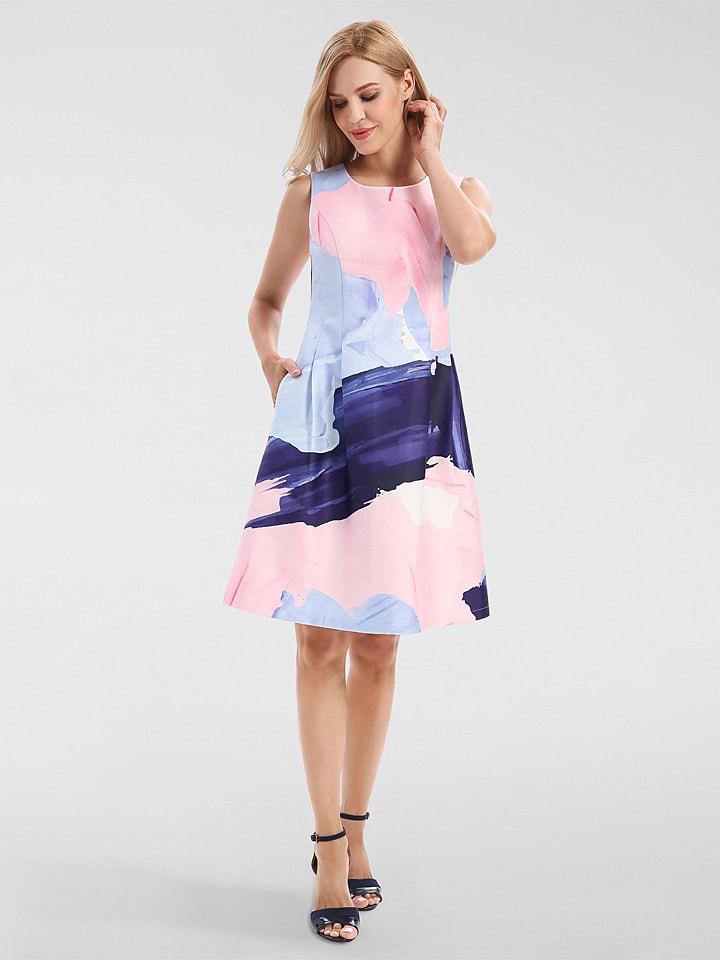 Apart Kleid In Rosa Blau Gunstig Kaufen Limango