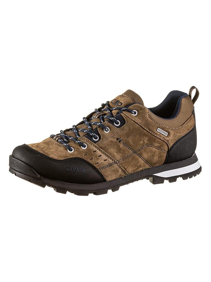 """CMP Skórzane buty trekkingowe """"Alcor"""" w kolorze jasnobrązowym"""