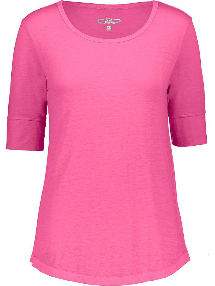 CMP Koszulka w kolorze różowym