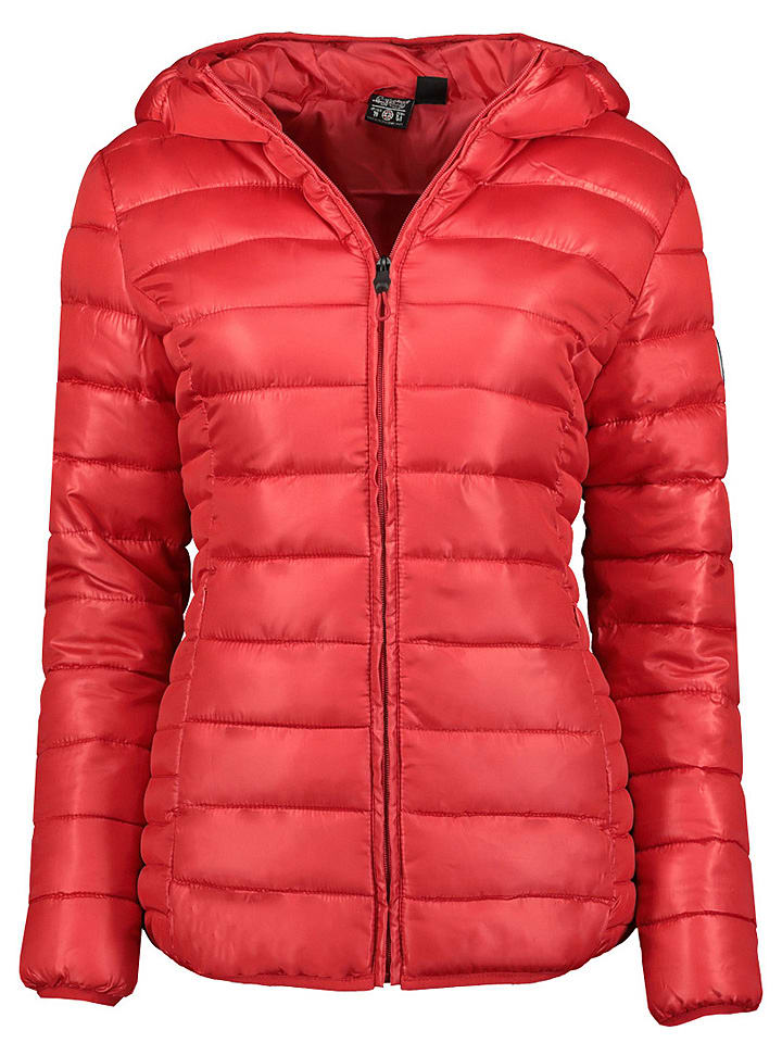 """Geographical Norway Steppjacke """"Annecy"""" in Rot"""