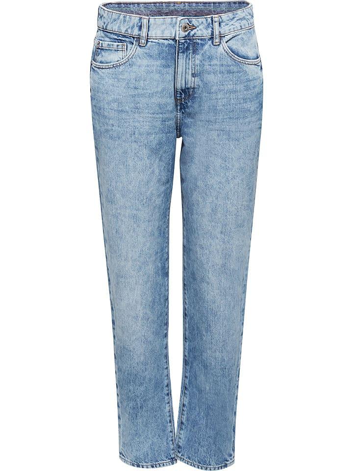 ESPRIT Dżinsy - Regular fit - w kolorze błękitnym