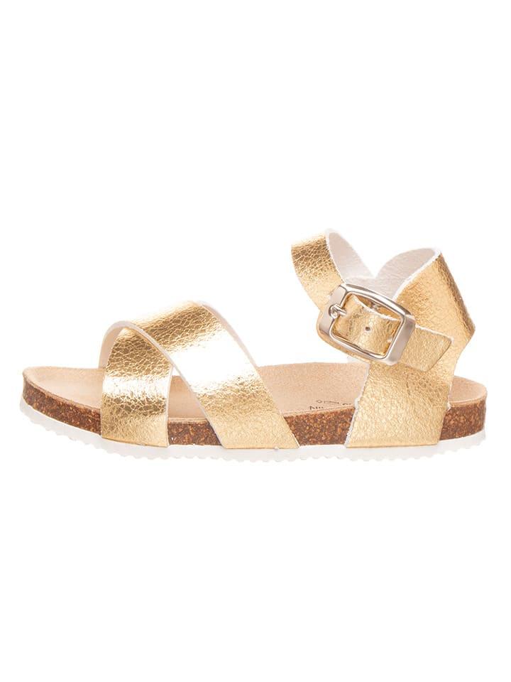 BIO PINGÜIN Sandalen goudkleurig
