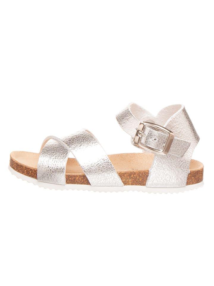 Sandalen zilverkleurig