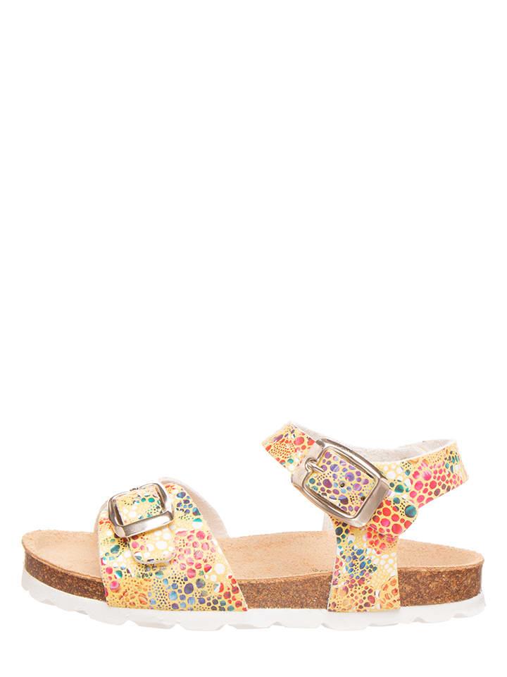BIO PINGÜIN Sandalen geel/meerkleurig