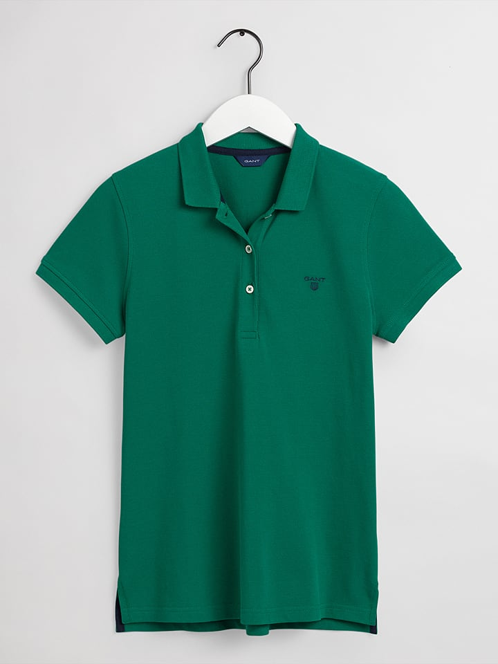 Gant Poloshirt in Grün