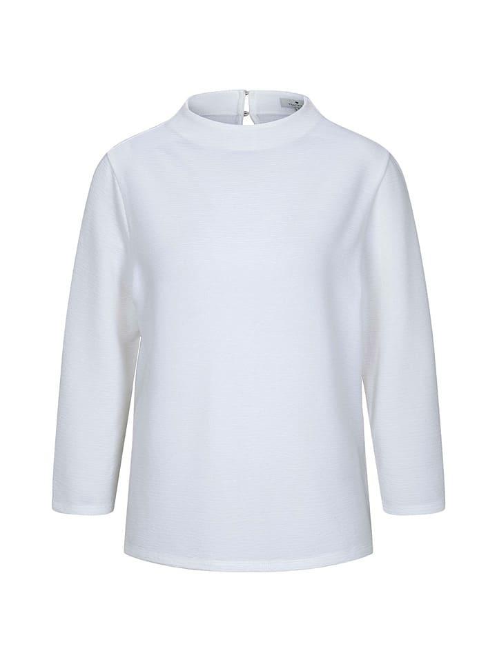 Tom Tailor Koszulka w kolorze białym