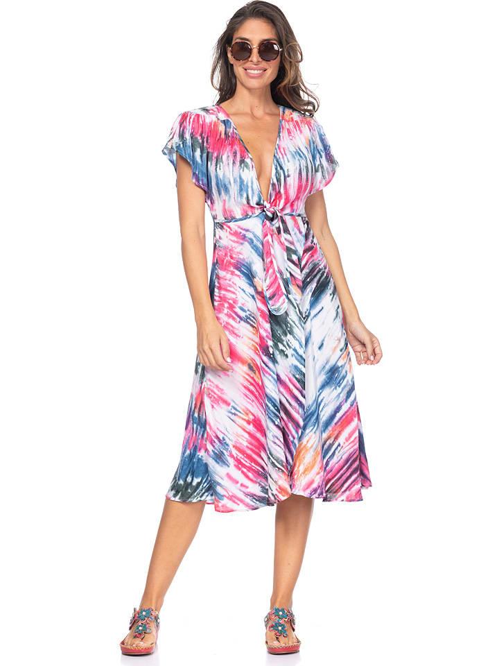 Peace & Love Sukienka ze wzorem