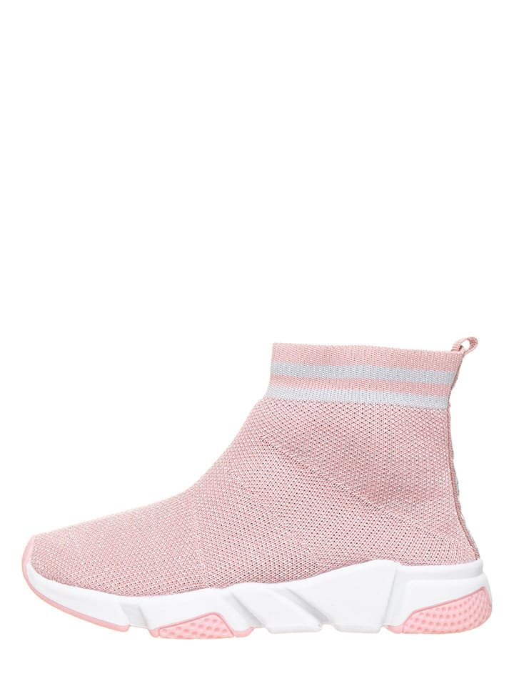 Xti Sneakersy w kolorze jasnoróżowym