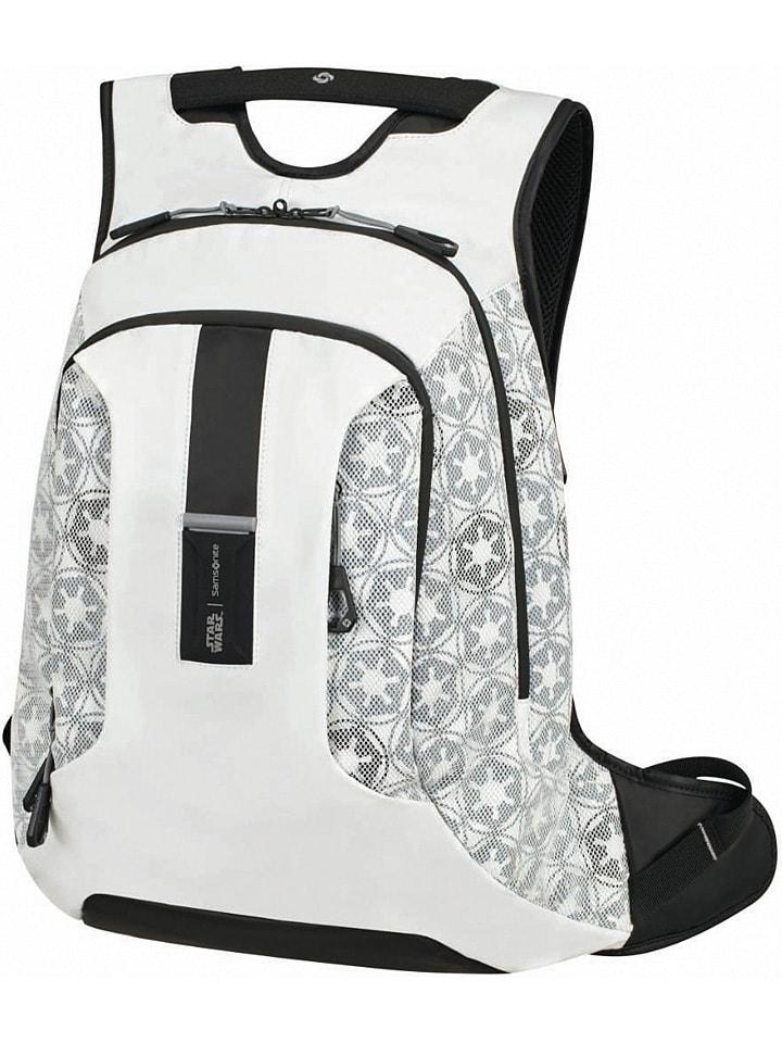 """Samsonite Plecak """"Star Wars - Stormtrooper"""" w kolorze białym - 32 x 45 x 22 cm"""