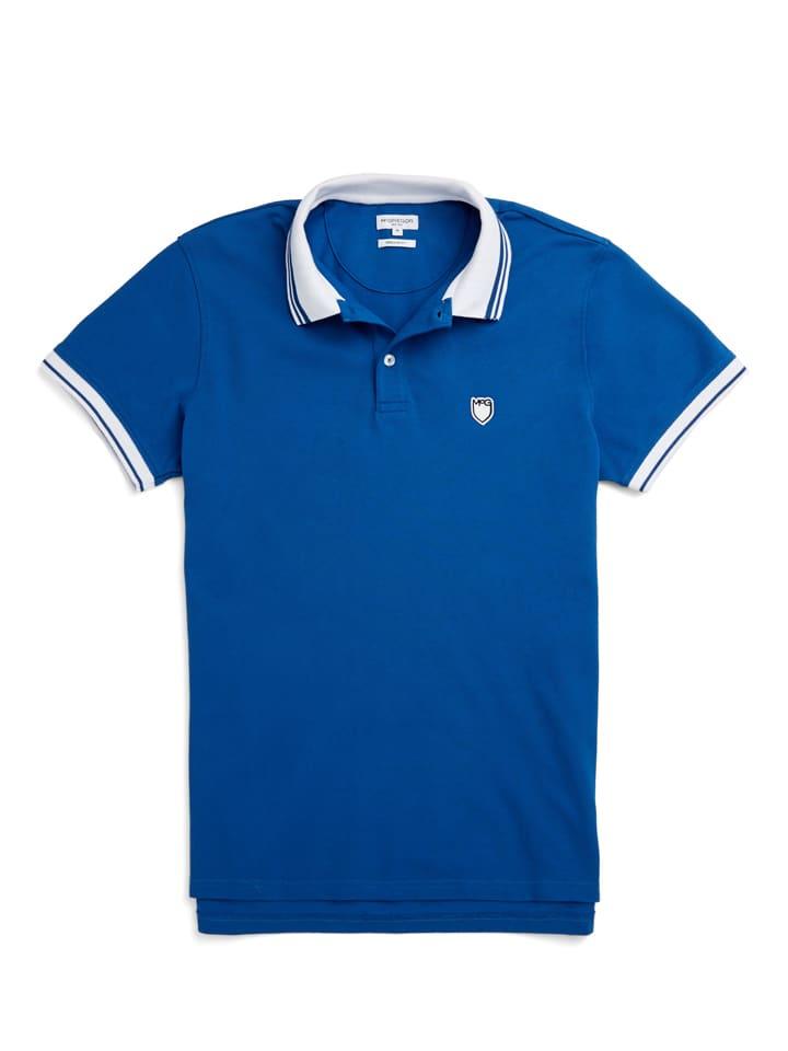 Poloshirt blauw