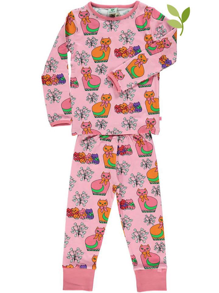Småfolk Pyjama lichtroze/meerkleurig