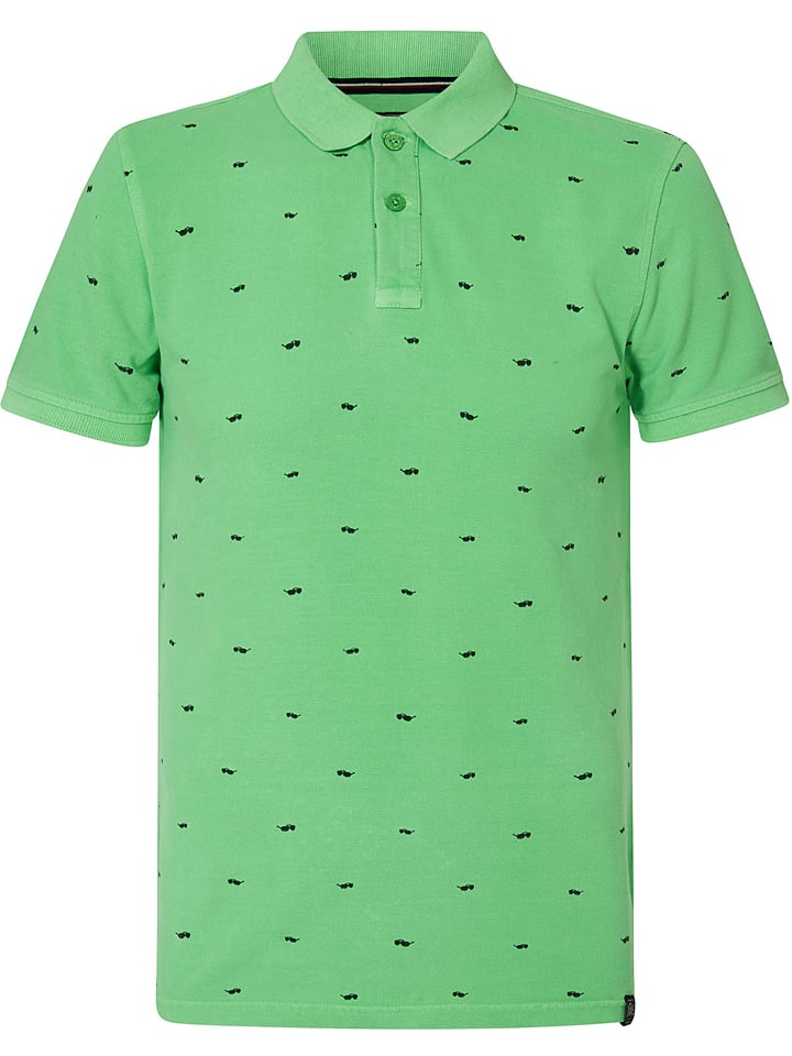 Petrol Industries Koszulka polo w kolorze zielonym