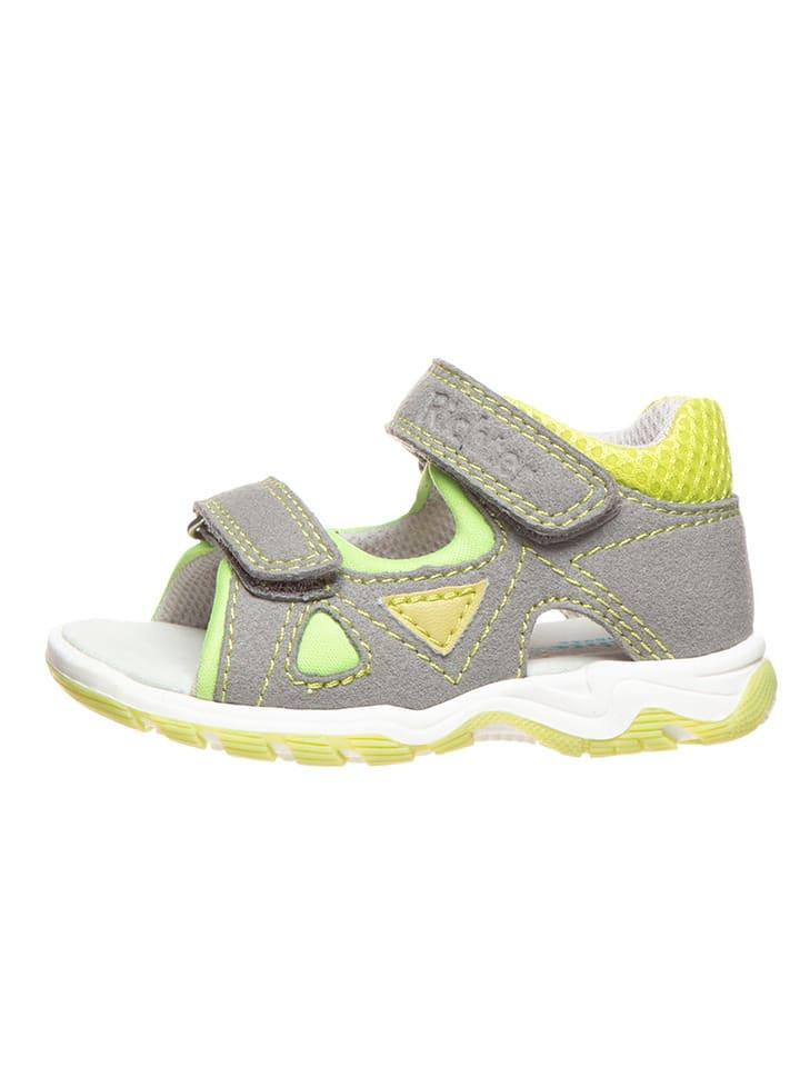 Richter Shoes Sandalen grijs/geel