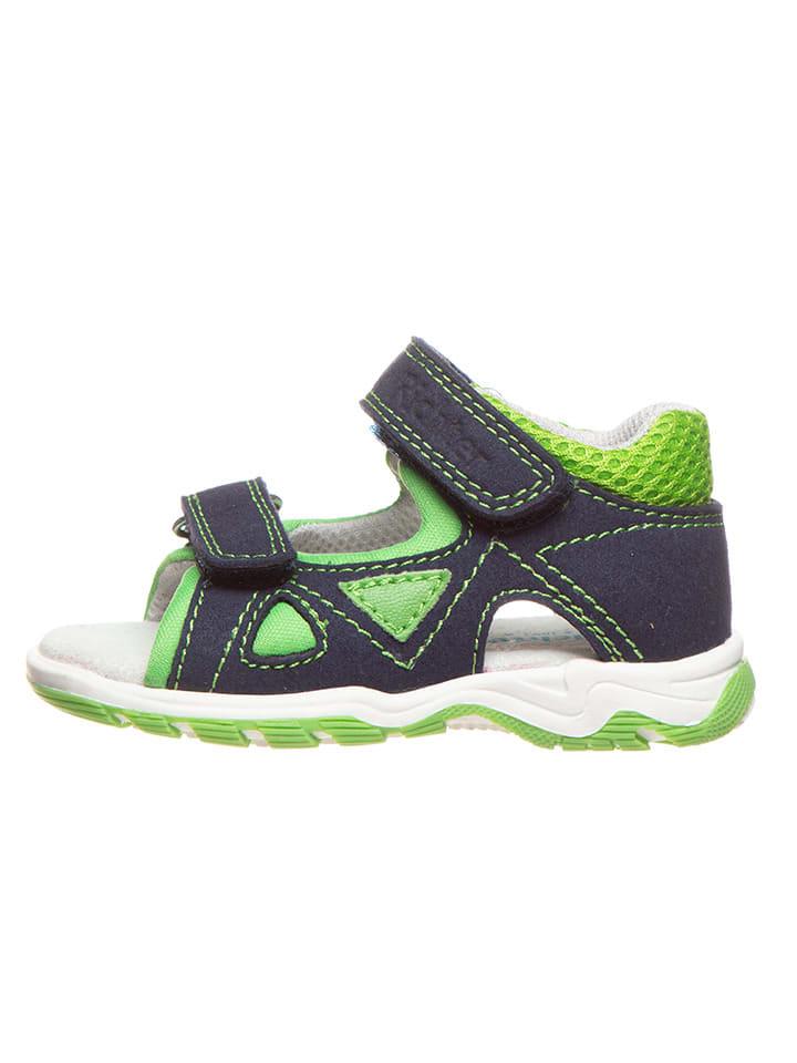 Richter Shoes Sandalen donkerblauw/groen