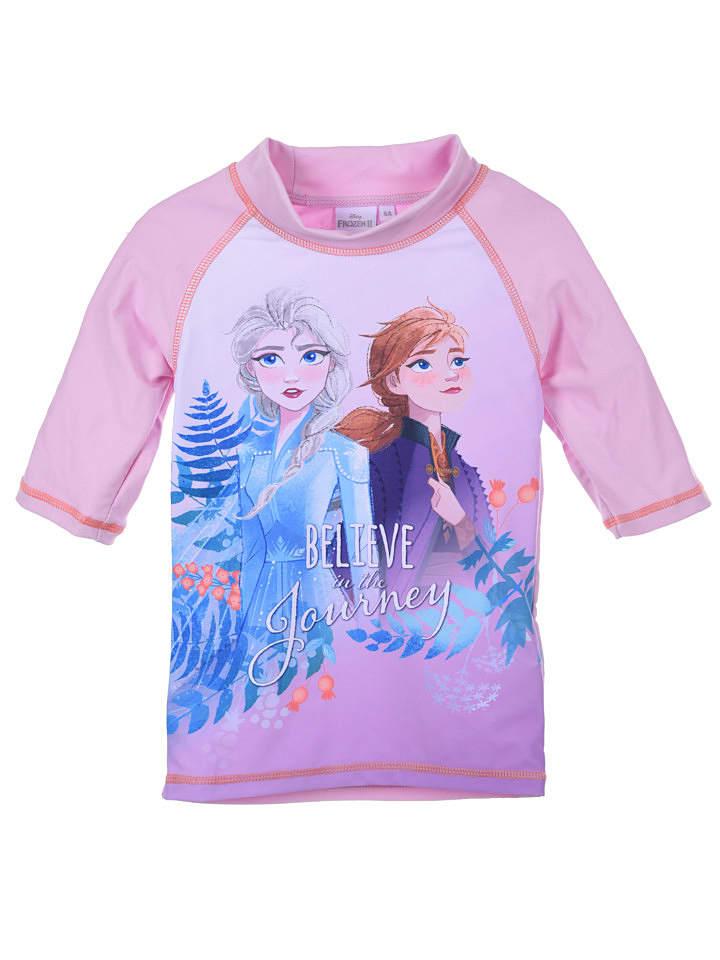 """Disney Frozen Koszulka kąpielowa """"Frozen"""" w kolorze lawendowym"""