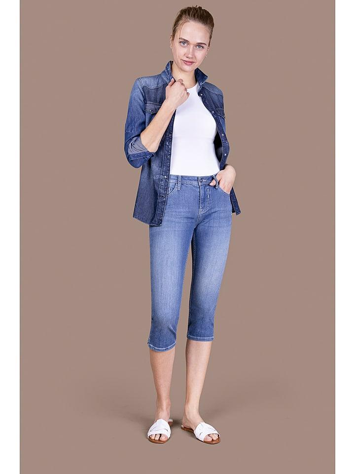 """Blue Fire Capri-Jeans """"Chloe"""" in Blau"""
