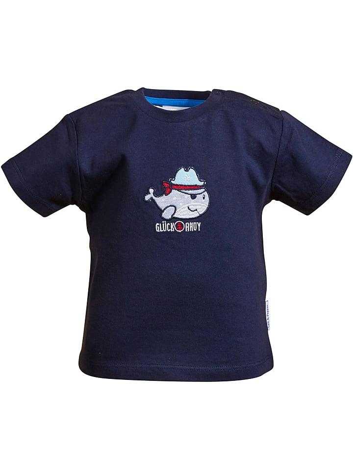 "Salt and Pepper Shirt ""Ahoy"" in Dunkelblau"