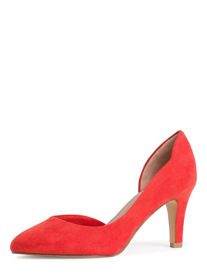 Tamaris Czółenka w kolorze czerwonym