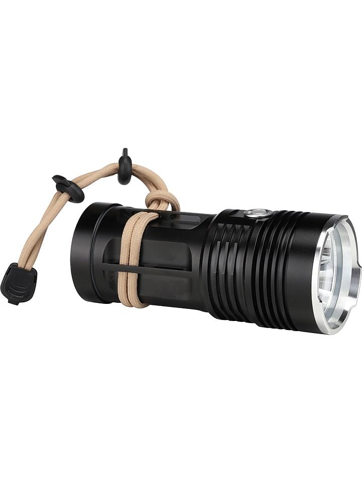 Profigarden Latarka kieszonkowa LED w kolorze czarnym - 13,5 x 6 cm