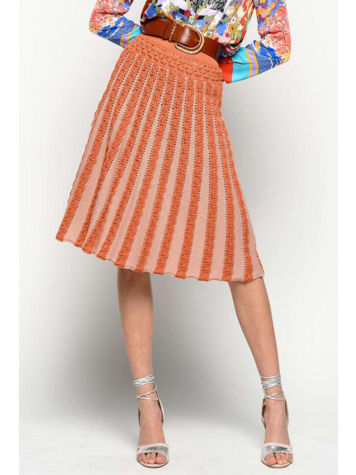 Pinko Spódnica w kolorze pomaranczowym