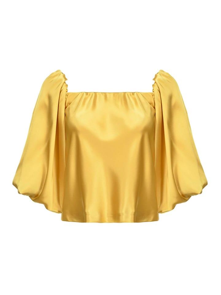 Pinko Bluzka w kolorze zółtym