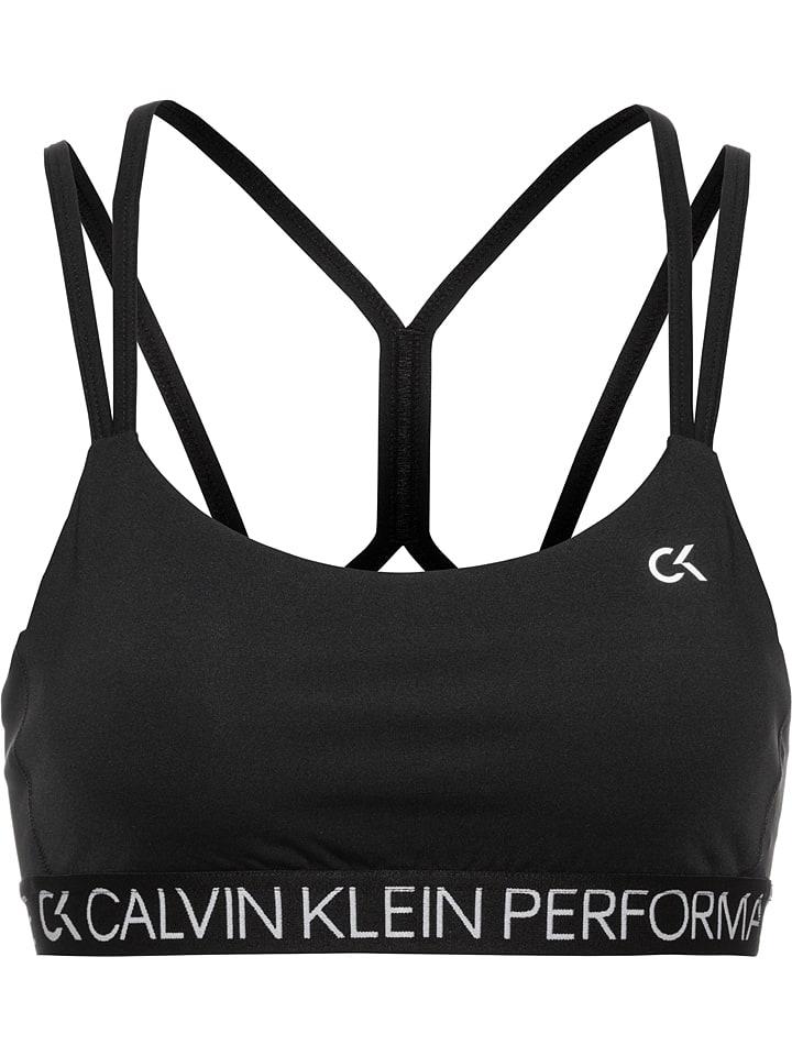 Calvin Klein Sportbeha zwart - low