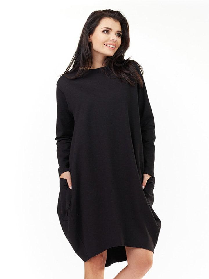 INFINITE YOU Sukienka w kolorze czarnym