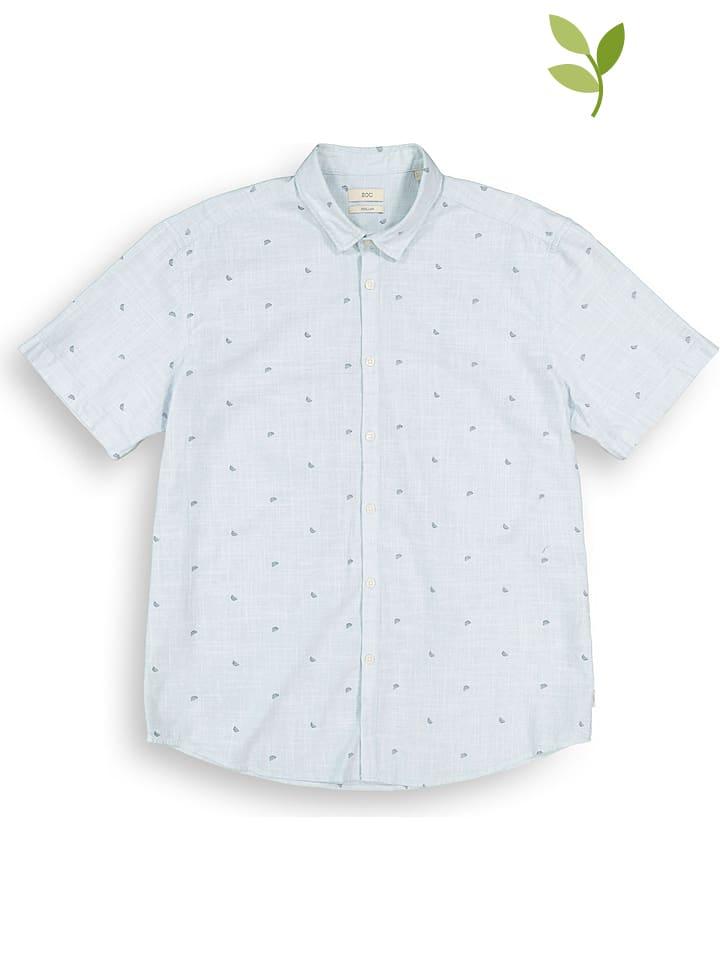 ESPRIT Koszula w kolorze błękitnym