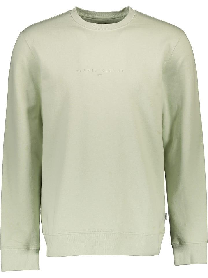 ESPRIT Bluza w kolorze jasnozielonym